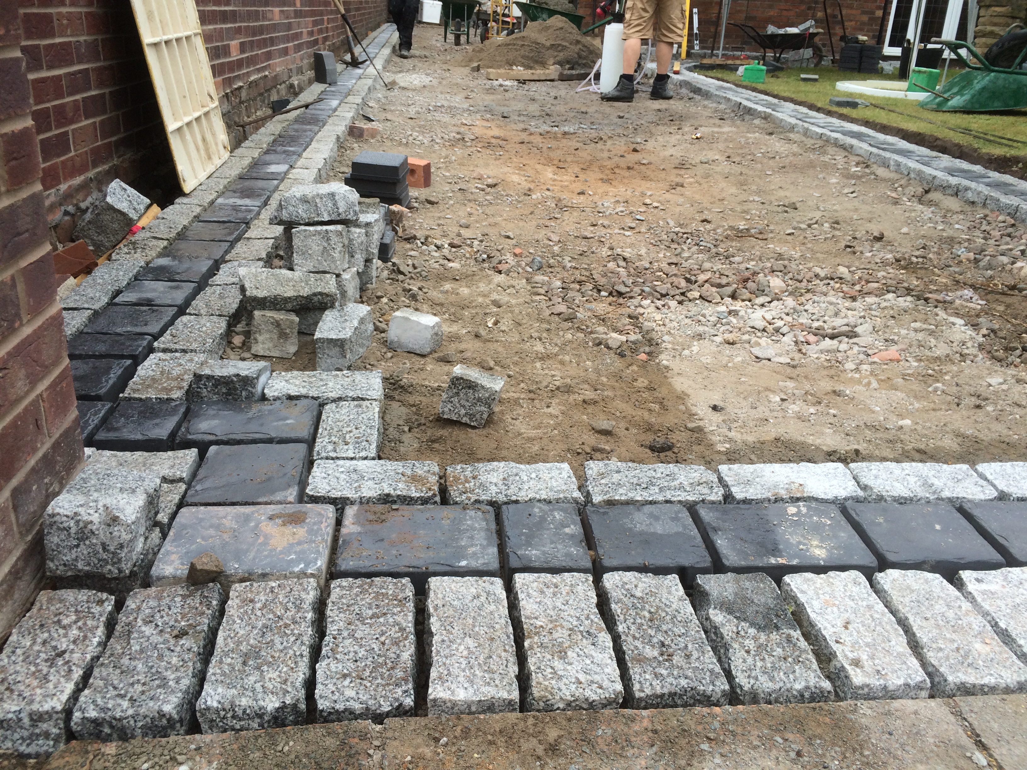 Stone System Granite : Darrow knowler paving north west before and after